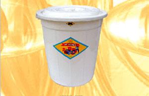 Thùng nhựa tròn 100 lít Vĩ Hưng (Ảnh 1)