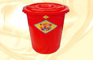Thùng nhựa tròn 120 lít Vĩ Hưng (Ảnh 1)