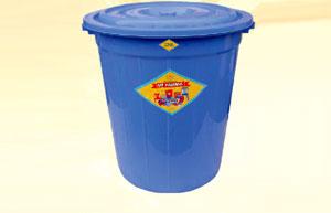 Thùng nhựa tròn 220 lít Vĩ Hưng (Ảnh 1)