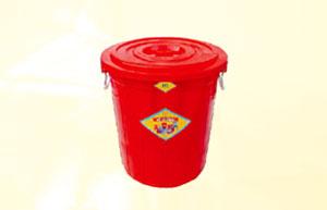 Thùng nhựa tròn 35 lít Vĩ Hưng (Ảnh 1)